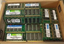 Lot of 10 1GB PC3200 DDR400MHz 184Pin Non-ECC DIMM Desktop Memory Various Brands