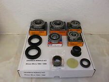 Gearbox bearing seal rebuild kit 92   98 suitable for Nissan Micra K11 1.0 inj
