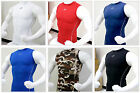 Take Five Mens Muscle Armour Compression Gear Under Base Layer Sleeveless Shirts