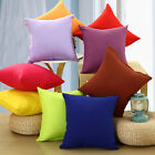 Colorful Simple Style Throw Pillow Case Sofa Bed Waist Cushion Cover Home Decor