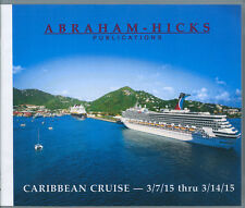 Abraham-Hicks Esther 11 CD Caribbean Cruise 2015 - NEW