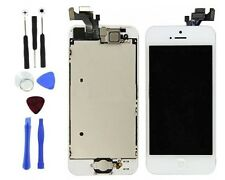White LCD Touch Display Digitizer Assembly Replacement for iPhone 5 With Tools