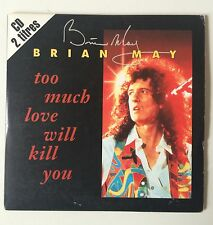 BRIAN MAY - TOO MUCH LOVE WILL KILL YOU - RARE 2 TRACKS SINGLE CD FRENCH QUEEN