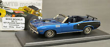 1/43 BOSS 11 1971 PLYMOUTH HEMI CUDA CONVERTIBLE BY SMTS