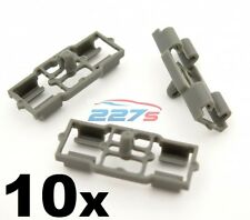 10x Grey Plastic Clips for BMW Door Bonnet Boot Trunk Weatherstrip Rubber Seal