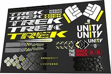 Trek Madone 6.9 SSL Lance Armstrong Unity decal set