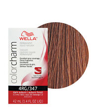 Wella Color Charm Permament Liquid Hair Color 42mL Dark Auburn 347 4RG
