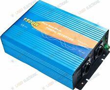 Power Inverter 1500W max 3000W Onda Sinusoidale Pura da 12V DC a  220-230V AC