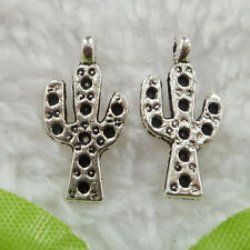 Free Ship 440 pieces tibet silver branch charms 20x10mm #195
