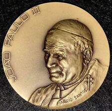 POPE JOHN PAUL II / MESSENGER OF PEACE BRONZE MEDAL (M.**)