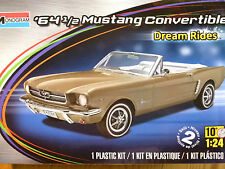 Revell Monogram 1:24 '64 1/2 Mustang Convertible Car Model Kit