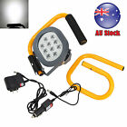 Portable 60W 10 LED Rechargeable Flood Spotlight Work Light Camping Fishing Lamp