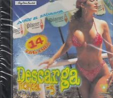 Grupo Melao Los Cumbiamberos Rene Alonso Descarga Tropical 3 CD Nuevo Sealed