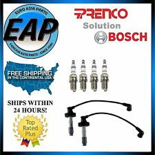 For 2000-2004 Volvo S40 V40 1.9L 4cyl Prenco Ignition Wire Set w/ Spark Plug NEW
