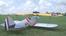 Giant 1/4 Scale LIBERTY SPORT B scratch build r/c Plane Plans 93 in. wingspan