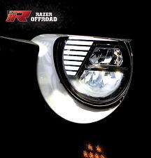 07-17 Jeep JK Wrangler Street Legal Black LED Headlight DRL+Hi+Lo Beam+Cree LEDs