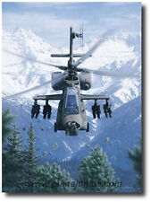 Rising Force (Artist Proof) by Dru Blair - AH-64 Apache - Helicopter Art Prints