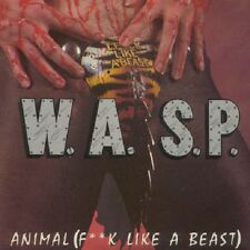 W.A.S.P. - Animal (F*ck like a Beast) - 1990 Restless WASP NEW