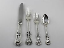 Towle Old Colonial Sterling Silver 4 Piece Dinner Setting - No Monograms
