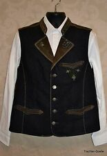 German Men's Trachtenweste Vest Lederhosen NEW US 48-50