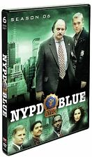 NYPD BLUE Complete Sixth SEASON 6 Six DVD Set Series TV Show Episode Dennis Fra