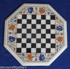 "12"" Marble Coffee Center Table Top Inlay Pietra dure Handmade Home Decor"