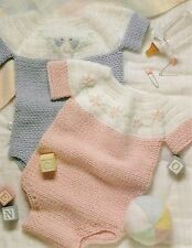 DARLING Baby Bubble Suits/Crochet Pattern INSTRUCTIONS ONLY