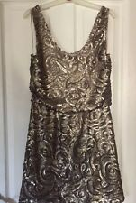 Ladies Mango Sequined. Dress Fab Con Size S 10/12/14?
