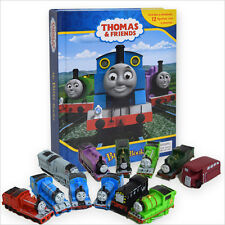 NEW Thomas The Tank Engine 2015 Set Of 12 Figures & My Busy Book & Map