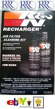 NEW K&N Recharger Air Filter Care Service Kit 99-5050