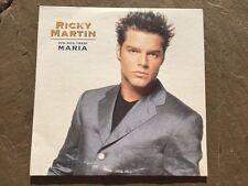 Un, Dos, Tres MARIA by Ricky Martin (Single Promo CD 1997) *C03