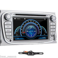 "Quad/Core 7"" Android 4.4 Car DVD Player GPS Navi Ford Mondeo S-Max Focus+ Camera"