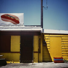 "Patty Carroll ""Abstract-hot dog & palettes"" 1988 Chicago Hotdog Stand Series"
