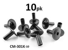 10-PACK Coaxial Cable Feed-Through Wall Protector Bushing - CablesOnline CM-301K