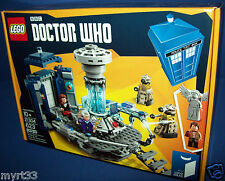 21304 BBC DOCTOR WHO LEGO CUUSOO/IDEAS - sealed new NISB 623 pc