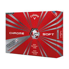 Callaway New Chrome Soft with Truvis Technology Golf Balls - 1 Dozen