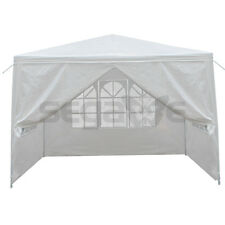 10 x 10 Ft White Canopy Party Tent Weddin Tent Pavilion Cater Events Outdoor Use