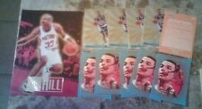 GRANT HILL ROOKIE OF THE YEAR GOLD FOIL 5CT RC +IMAGES PROMO 5CT RC +JUMBO RC