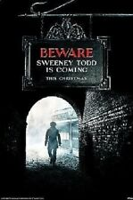 Sweeney Todd - Brand New Licensed Maxi Poster - Johnny Depp/Tim Burton