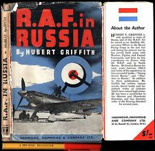 WWII R.A.F in RUSSIA Hubert Griffith Probable 1942 1st Edition (undated) HCDJ