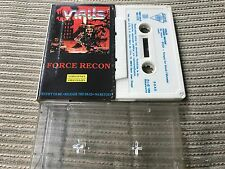 VIRUS - FORCE RECON CASSETTE TAPE SPAIN - TRASH METAL - DIANA 91