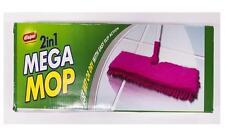 2 in 1 Mega Pavimento Mop umido o a secco Pulizia Mop 360 azioni Girevole in Microfibra
