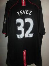 Manchester United 2007-2008 TEVEZ 32 sur chemise du football à Arrière XXL / 15446