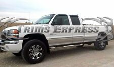 """2000-2006 GMC Sierra 4Dr Extended Cab Long Bed Rocker Panel-12p 7"""" No Flare"""