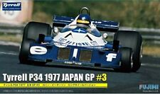 Fujimi 09090 GP34 1/20 Scale Model Formula One Kit Tyrell P34 1977 Japan GP #3