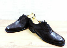 New Church's Cheaney Mens Chestnut Brogue Cap Lace-up Shoes UK 7 US 8 EU 41 G