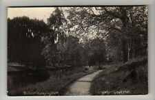 New Zealand - Christchurch, Autumn in Hagley Park - RPPC