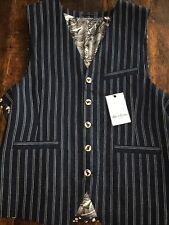 Robert Graham Stripe Cotton Vest.