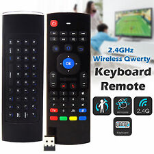 Control Remoto Inalámbrico 2.4GHz Teclado Qwerty Fly Air Mouse Para Android Smart TV Box M8