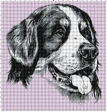 Bernese Mountain Dog Afghan Crochet Graph Pattern By Alta's Crafts